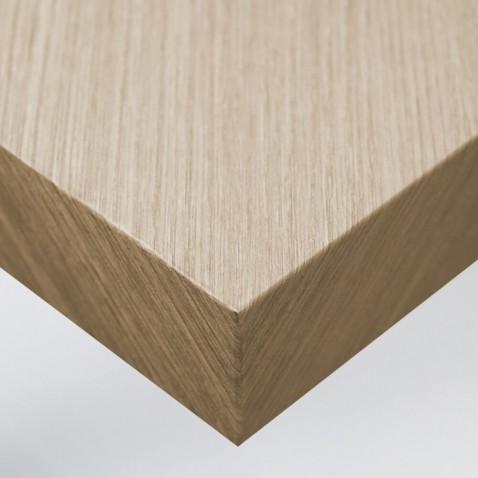 Papier vinyle autocollant imitation Chêne à Lignes Dorées