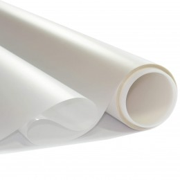 Film sécurité dépoli Blanc - 125 microns