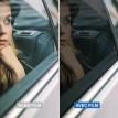 Film solaire pour voiture Noir clair Black 35 - 23 microns 1 pli