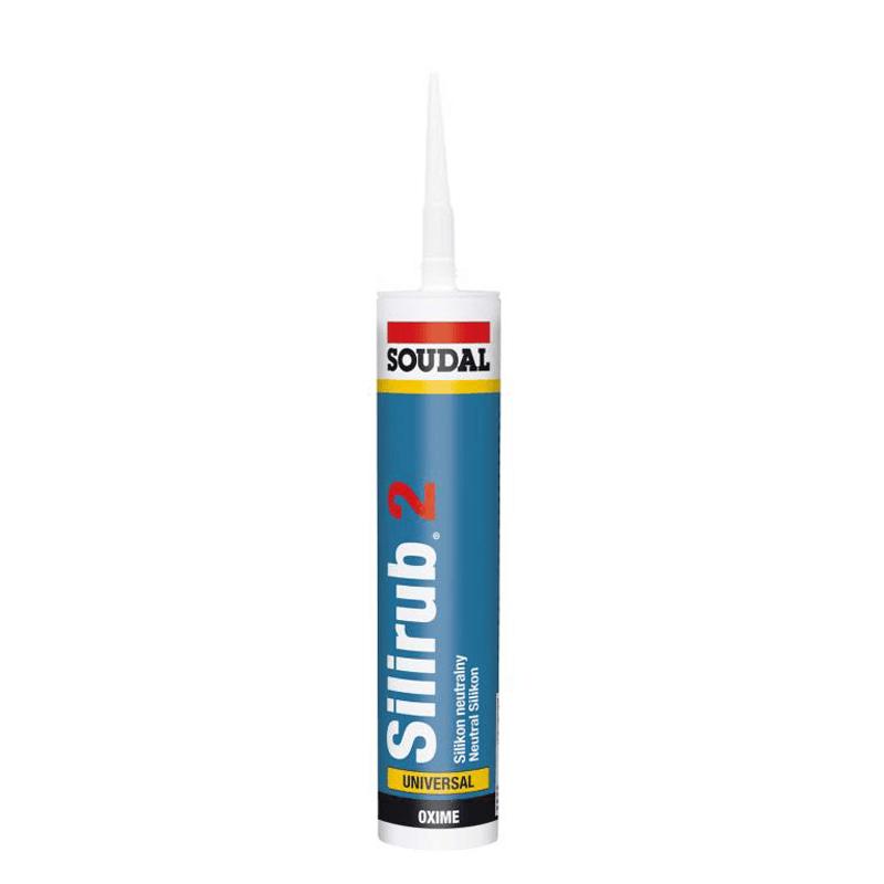 Mastic Silicone Transparent pour joints de vitrage - 300 ml