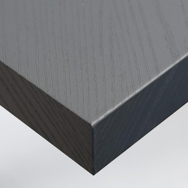 Film decoratif noir transparent pour table en verre