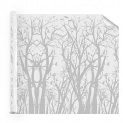 Film decoration Arbres et feuilles depolis ambiance nature