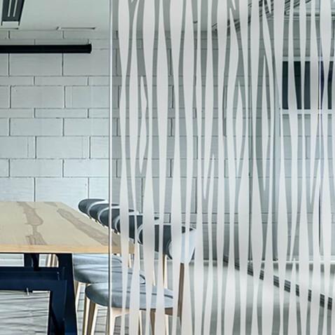 Film decoratif dépoli Forêt de Bambous