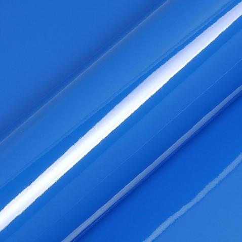 Adhesif couleur monomère bleu continental vu sur vitrine magasin