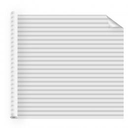 Film décoratif adhésif pour vitrage bandes blanches dégradées