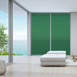 Film autocollant transparent Vert menthe