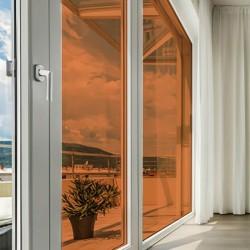 Film autocollant couleur Orange transparent