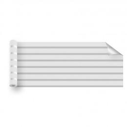 Film électrostatique décoratif à bandes dépolies - 50 mm / 20 mm