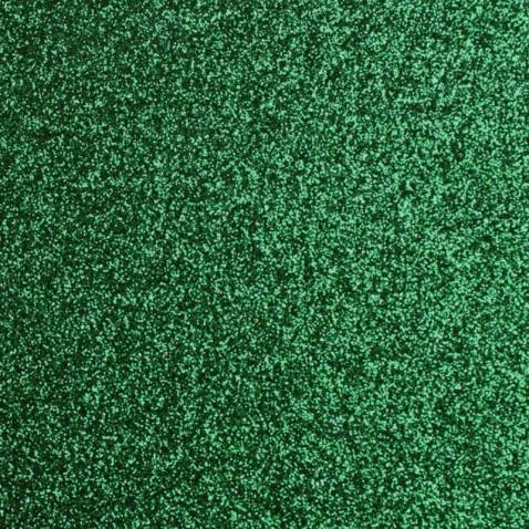 Revêtement adhésif vert bouteille pailleté