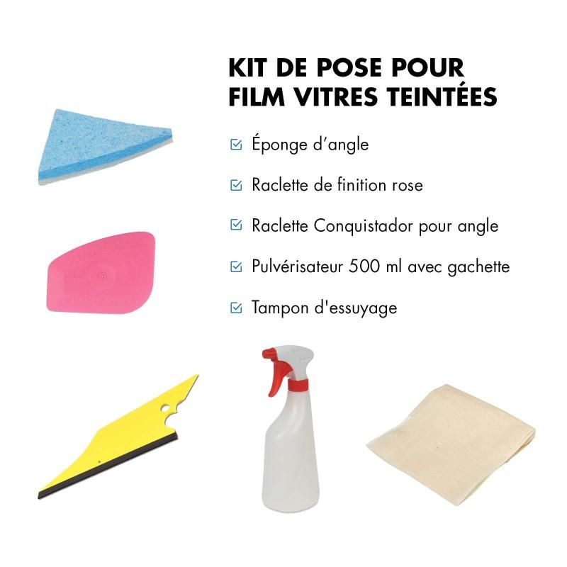 Kit de pose pour film teinté pour voiture