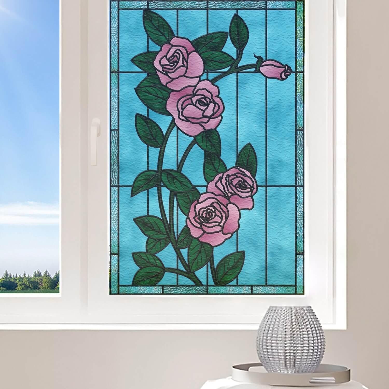 Fleurs de rosier roses