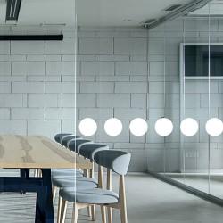 Ronds de signalisation pour vitrage avec 60 ronds blancs