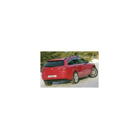 Kit film solaire Alfa Romeo 159 Sport Wagon Break 5 portes (2006 - 2012)