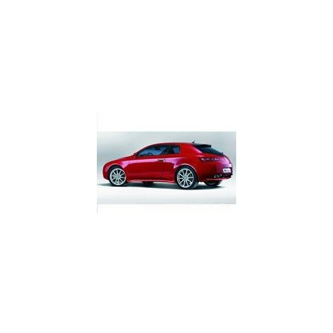 Kit film solaire Alfa Romeo Brera Coupe 3 portes (2006 - 2011)
