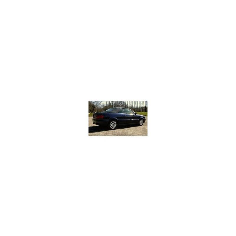 Kit film solaire Audi 80 et 90 (1) Cabriolet 2 portes (1991 - 2000) lunette arrière non incluse (toile)