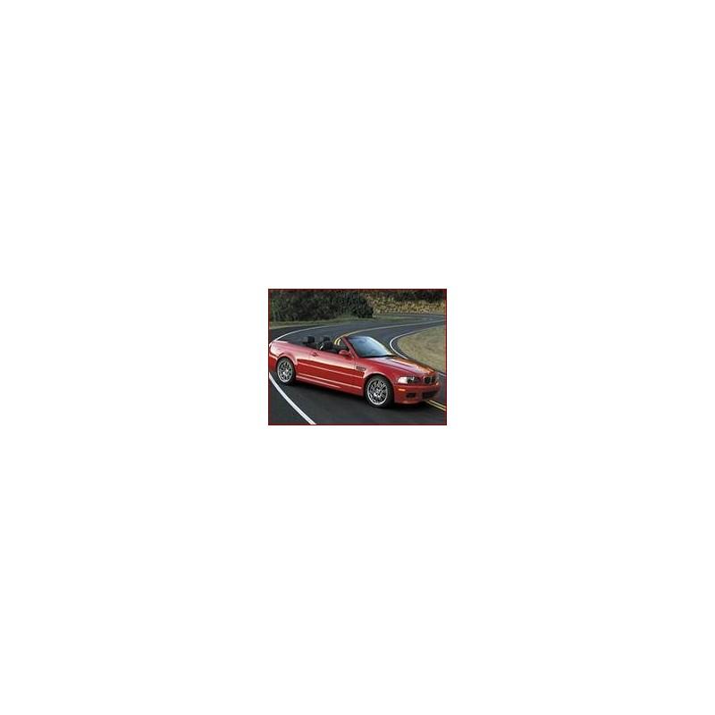 Kit film solaire Bmw Serie 3 (4) M3 Cabriolet 2 portes (1999 - 2005)