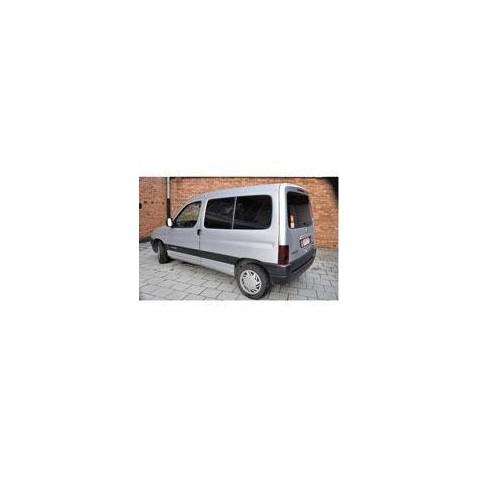 Kit film solaire Citroën Berlingo (1) 4 portes (1996 - 2008) avec 1 porte latérale à droite et hayon