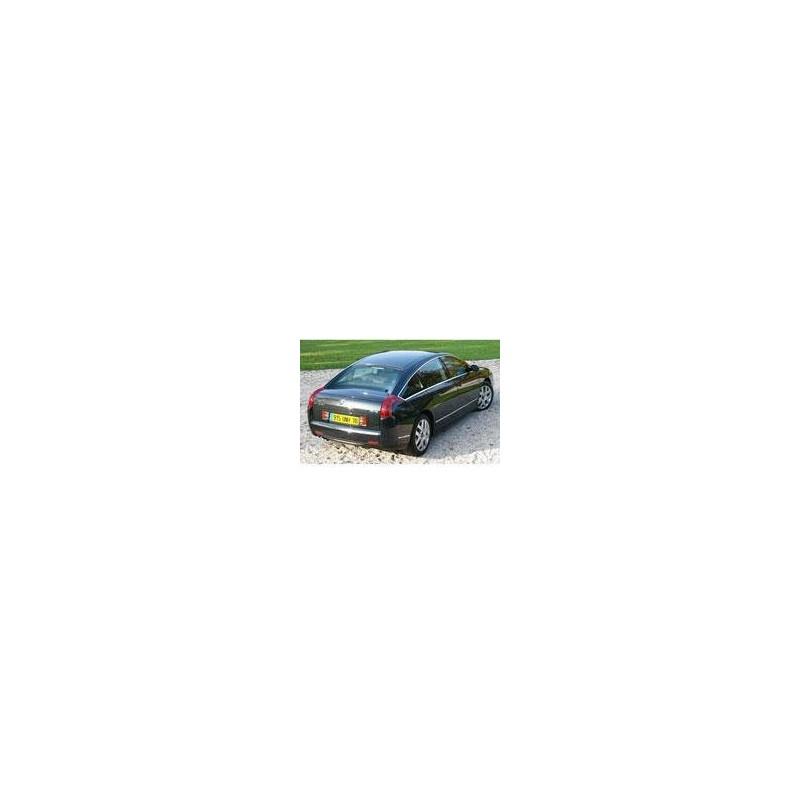 Kit film solaire Citroën C6 Berline 4 portes (depuis 2005) lunette arriére divisée en 2 parties