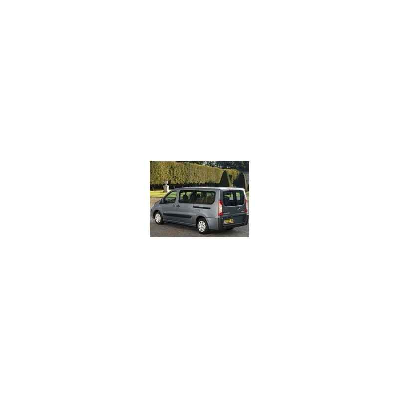 Kit film solaire Citroën Jumpy (2) Court 6 portes (2007 - 2017) 2 portes latérales et 2 portes arrières