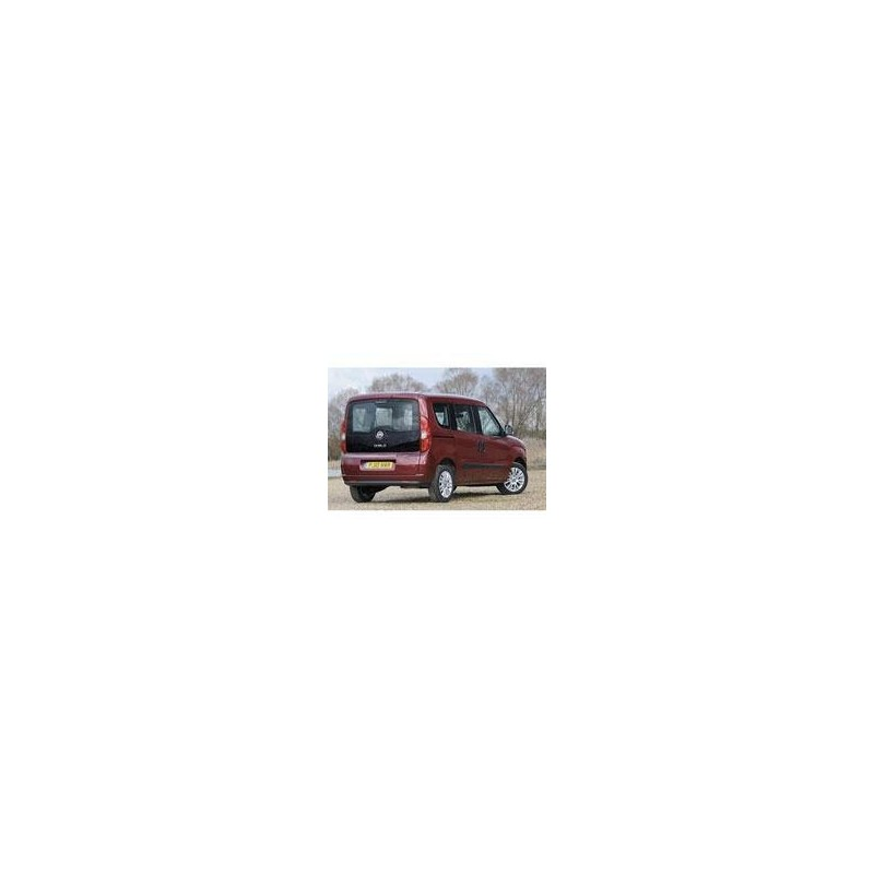 Kit film solaire Fiat Doblo (2) 5 portes (depuis 2009) vitres entrouvrantes et hayon