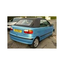 Kit film solaire Fiat Punto (1) Cabriolet 2 portes (1994 - 2001) lunette arrière non incluse (toile)