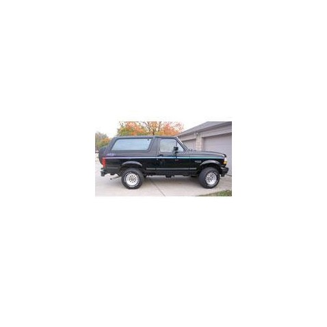 Kit film solaire Ford Bronco (5) 3 portes (1992 - 1997)