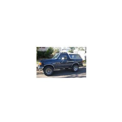 Kit film solaire Ford Bronco (3) 3 portes (1979 - 1986) avec déflecteurs avant