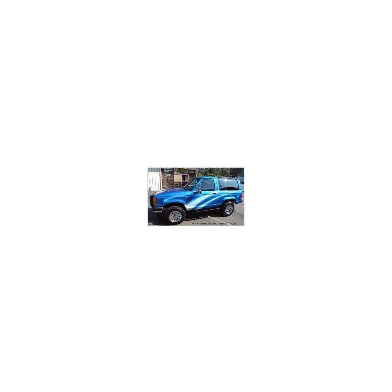 Kit film solaire Ford Bronco (4) 3 portes (1986 - 1991) sans déflecteurs avant