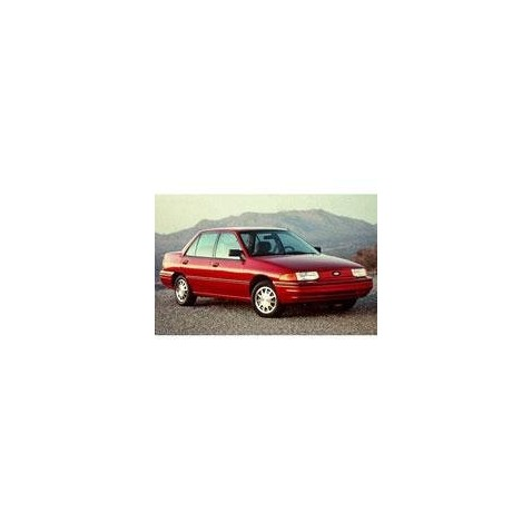 Kit film solaire Ford Escort (2) Berline 4 portes (1991 - 1996)