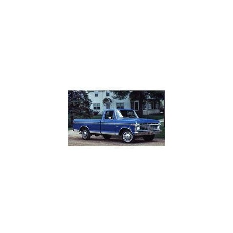 Kit film solaire Ford F-Series (6) Simple Cab Pick-up 2 portes (1973 - 1979)
