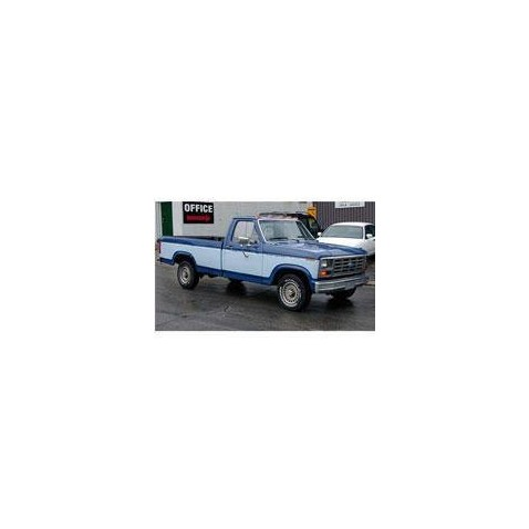 Kit film solaire Ford F-Series (7) Simple Cab Pick-up 2 portes (1980 - 1989)