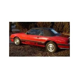Kit film solaire Ford Mustang (3) Cabriolet 2 portes (1983 - 1989)