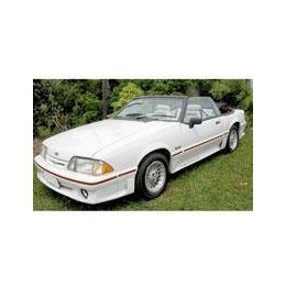 Kit film solaire Ford Mustang (3) Cabriolet 2 portes (1990 - 1993)