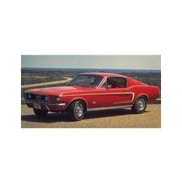 Kit film solaire Ford Mustang (1) Coupe 2 portes (1967 - 1971)