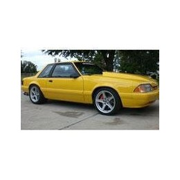 Kit film solaire Ford Mustang (3) Coupe 2 portes (1979 - 1993)