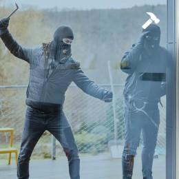 Film sécurisation de vitrage teinté Argenté clair - 125 microns