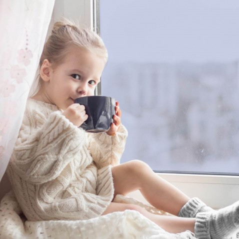 Film isolant anti froid pour fenêtre - Faible effet réfléchissant