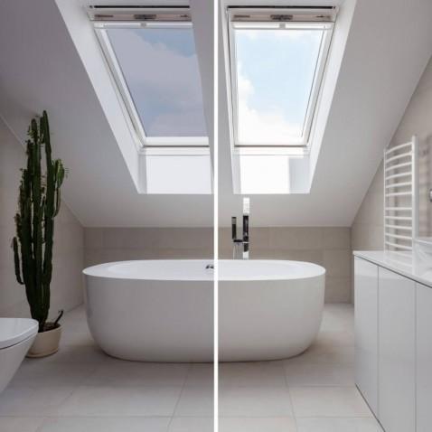 Film solaire anti chaleur fenêtre de toit Argent clair pose extérieure - rejet solaire 69%