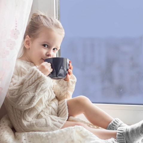Film isolant thermique anti froid Argent foncé pour fenêtre