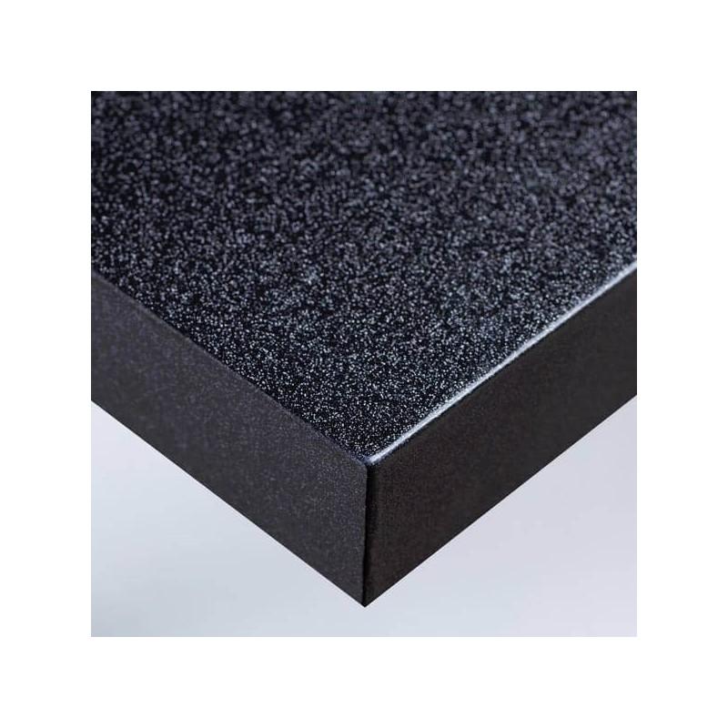 Film adhésif pour murs et meubles gloss pailleté décoré noir pour décoration bureau parfaite