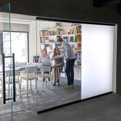 Film intimité dépoli translucide Blanc - 60 microns