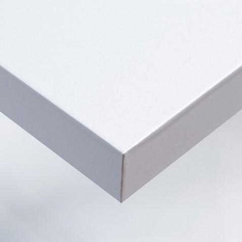 Revetement adhésif aspect gloss pailleté coloré blanc pour meuble et pour murs