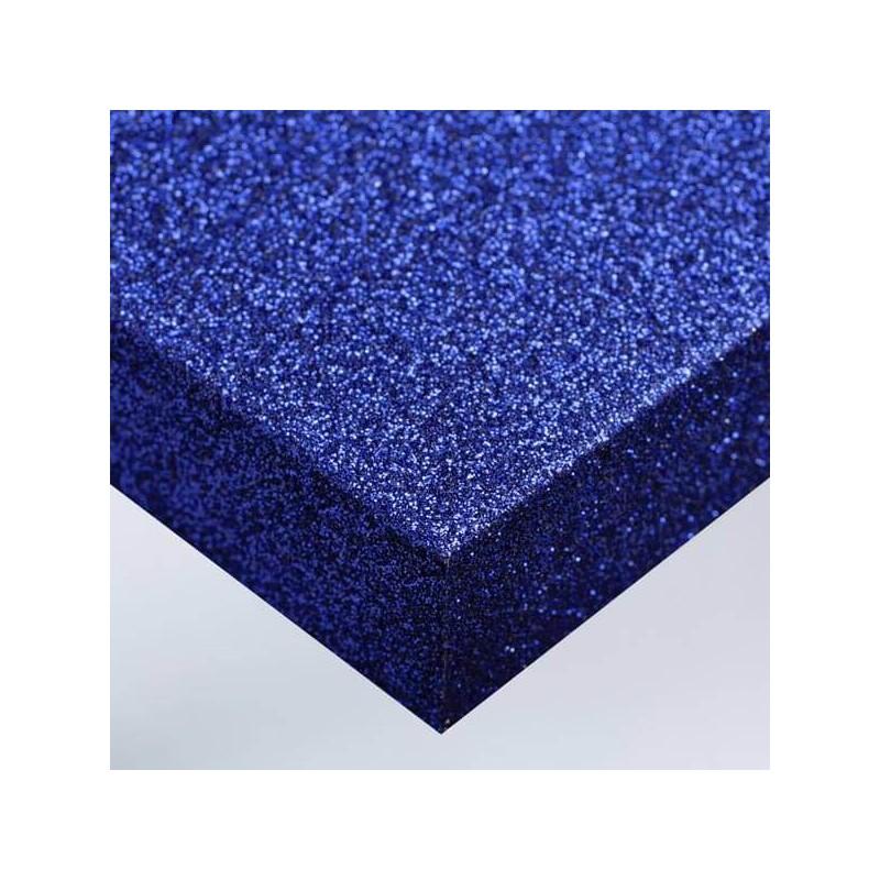 Fillm PVC adhésif disco bleu nuit décoration murale design