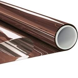 Filtre sans tain bronze pour ne pas être vu pose extérieure - 50 microns