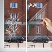 Film Haute sécurité transparent anti impact anti éclat pose extérieure 240 microns