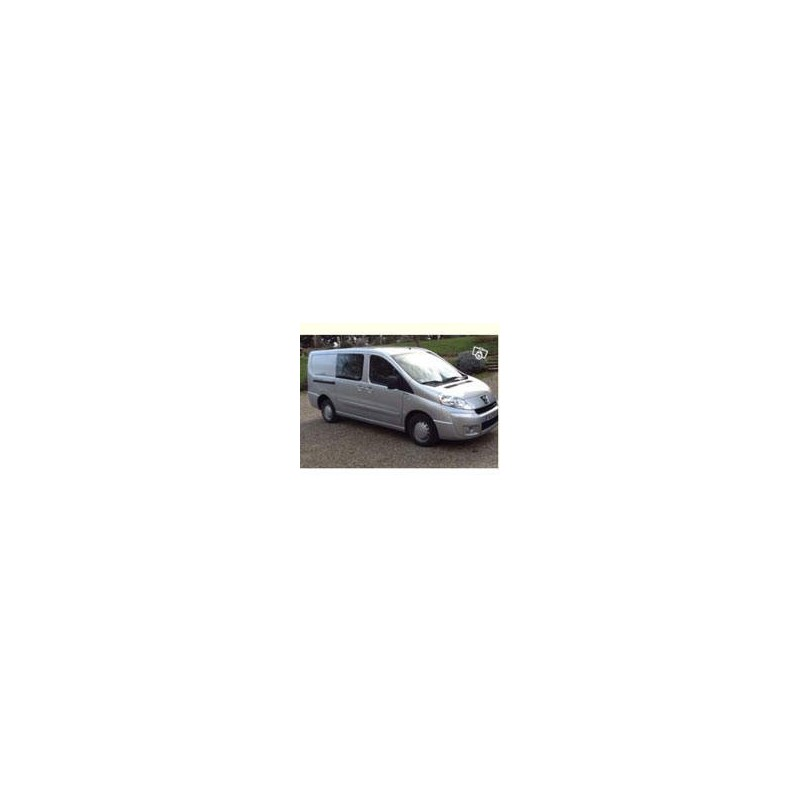 Kit film solaire Citroën Jumpy (2) Utilitaire 5 portes (2007 - 2017) 2 vitres fixes et 2 portes arrières