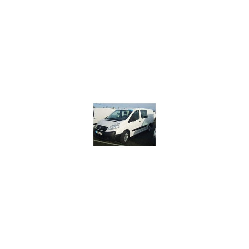 Kit film solaire Citroën Jumpy (2) Utilitaire 4 portes (2007 - 2017) 2 vitres fixes avec hayon