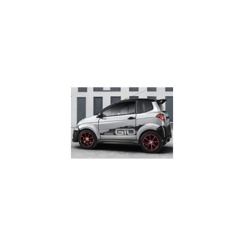 Kit film solaire Aixam GTO 3 portes (depuis 2011)