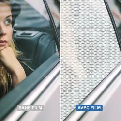 Film intimité microperforé one way vision - 140 microns