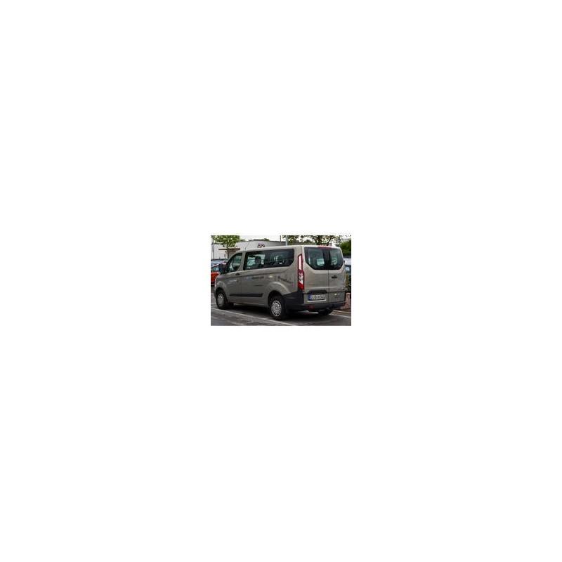Kit film solaire Ford Custom Transit (1) Court 5 portes (depuis 2013) 1 porte latérale, vitres fixes et 2 portes arrières
